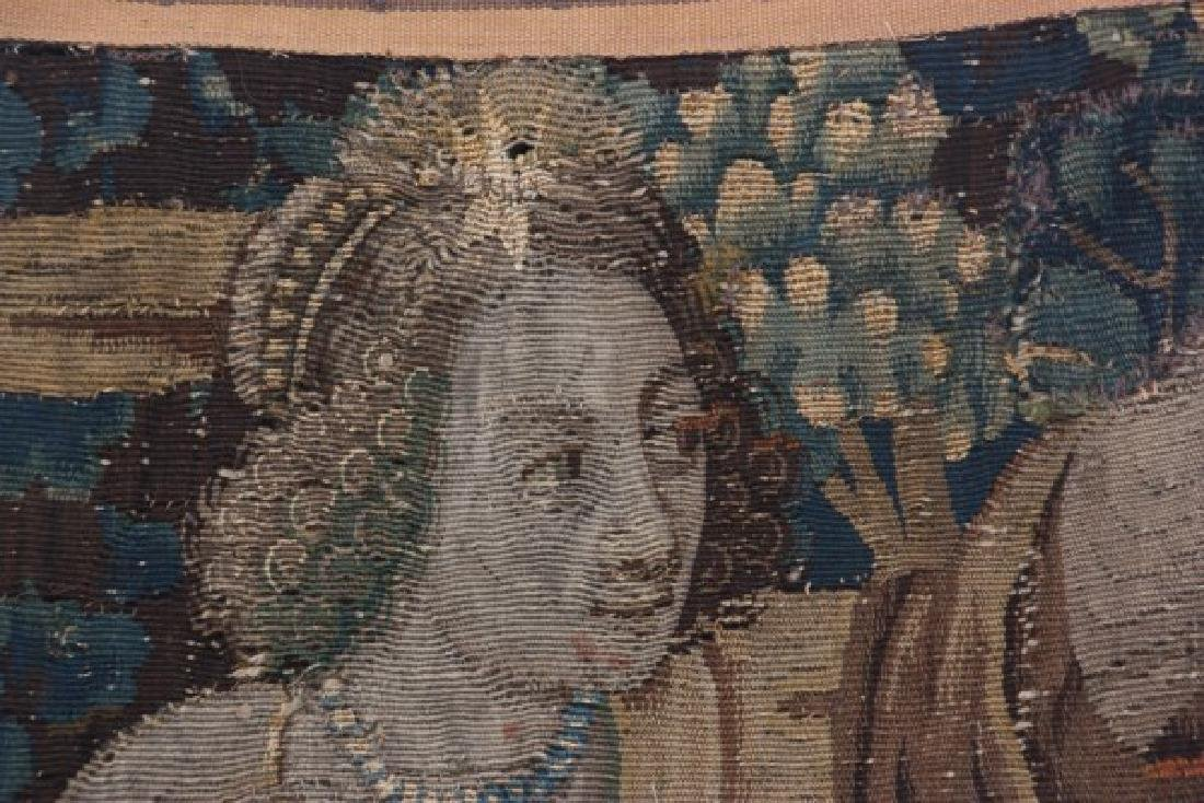 Hand Made Figural Wall Tapestry - 4