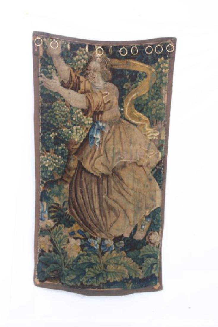 Hand Made Figural Wall Tapestry - 5
