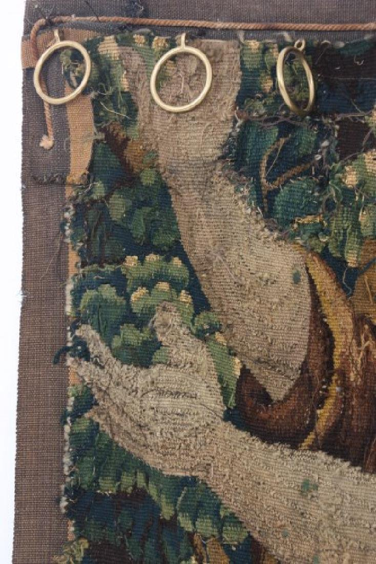 Hand Made Figural Wall Tapestry - 8
