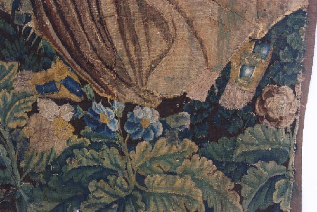 Hand Made Figural Wall Tapestry - 9
