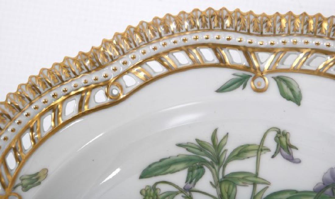 2 Pcs. Royal Copenhagen Flora Danica - 9