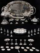 35 Pcs Yuchang Chinese Export Sterling Silver