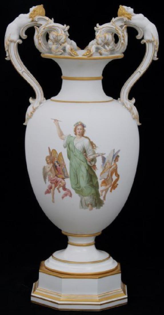 Lg. KPM Porcelain Vase