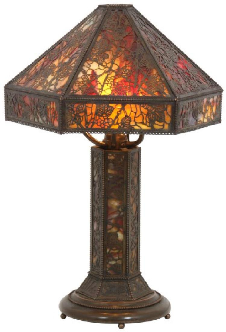Riviere Studios Grapevine Overlay Table Lamp