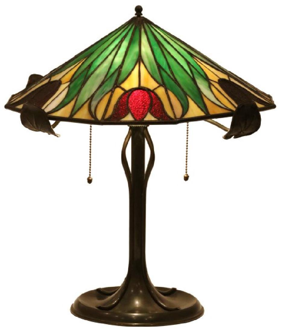 16 in. Bradley & Hubbard Table Lamp