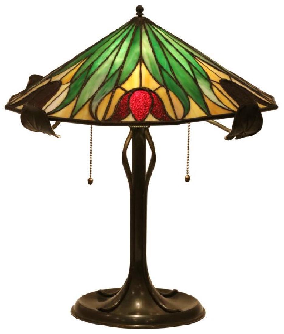 16 in. Bradley & Hubbard Table Lamp