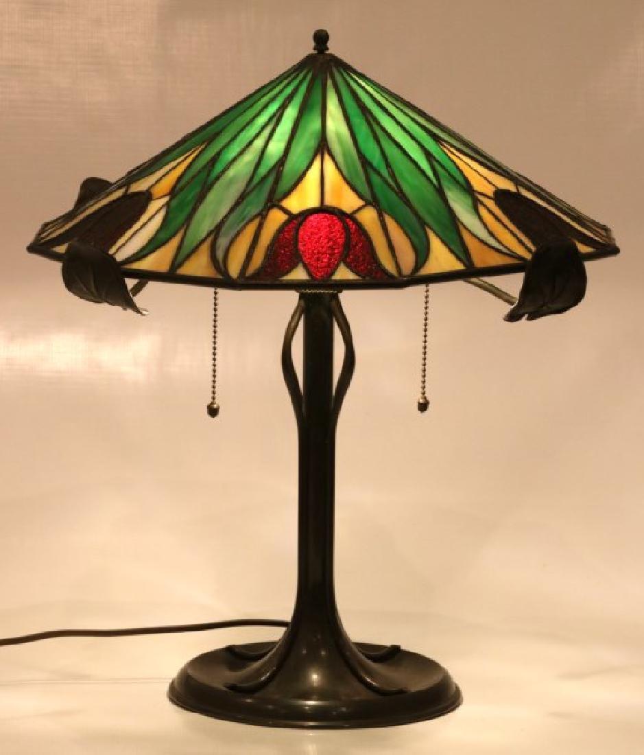 16 in. Bradley & Hubbard Table Lamp - 2