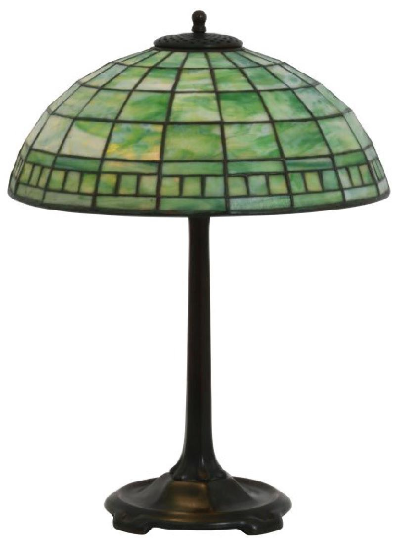 16 in. Tiffany Studios Geometric Table Lamp
