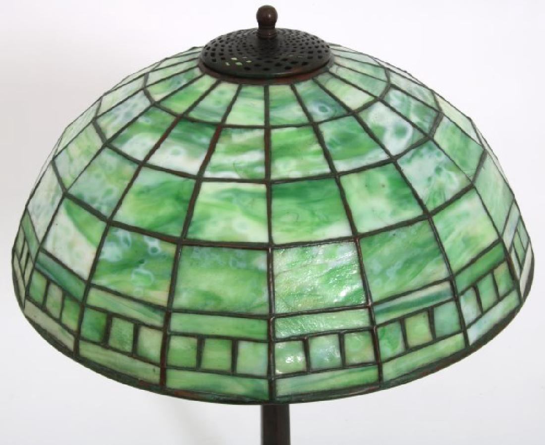 16 in. Tiffany Studios Geometric Table Lamp - 2