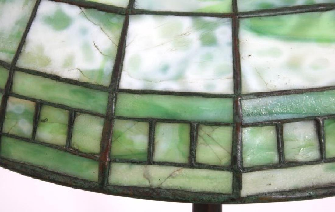 16 in. Tiffany Studios Geometric Table Lamp - 3