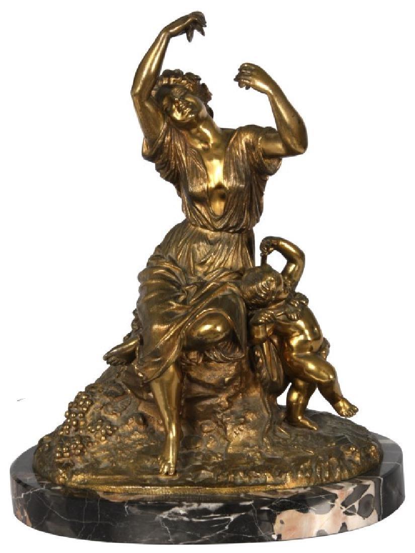 Signed LeQuesne Bronze Sculpture
