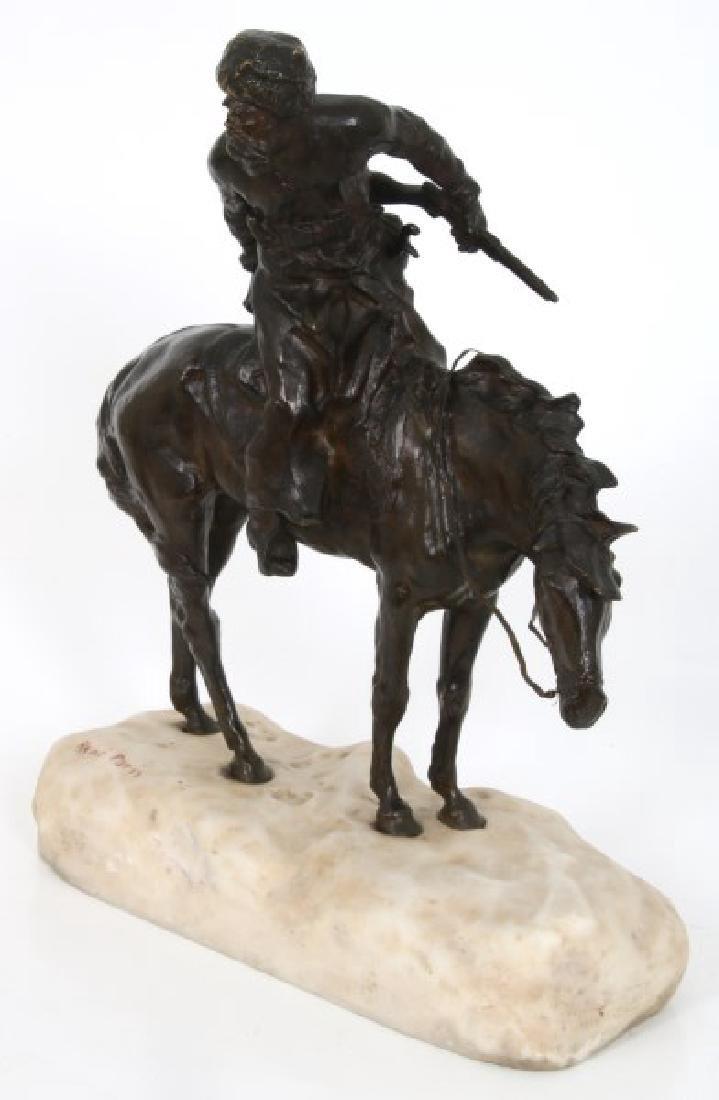 Rene Paris Bronze Cossack Hunter