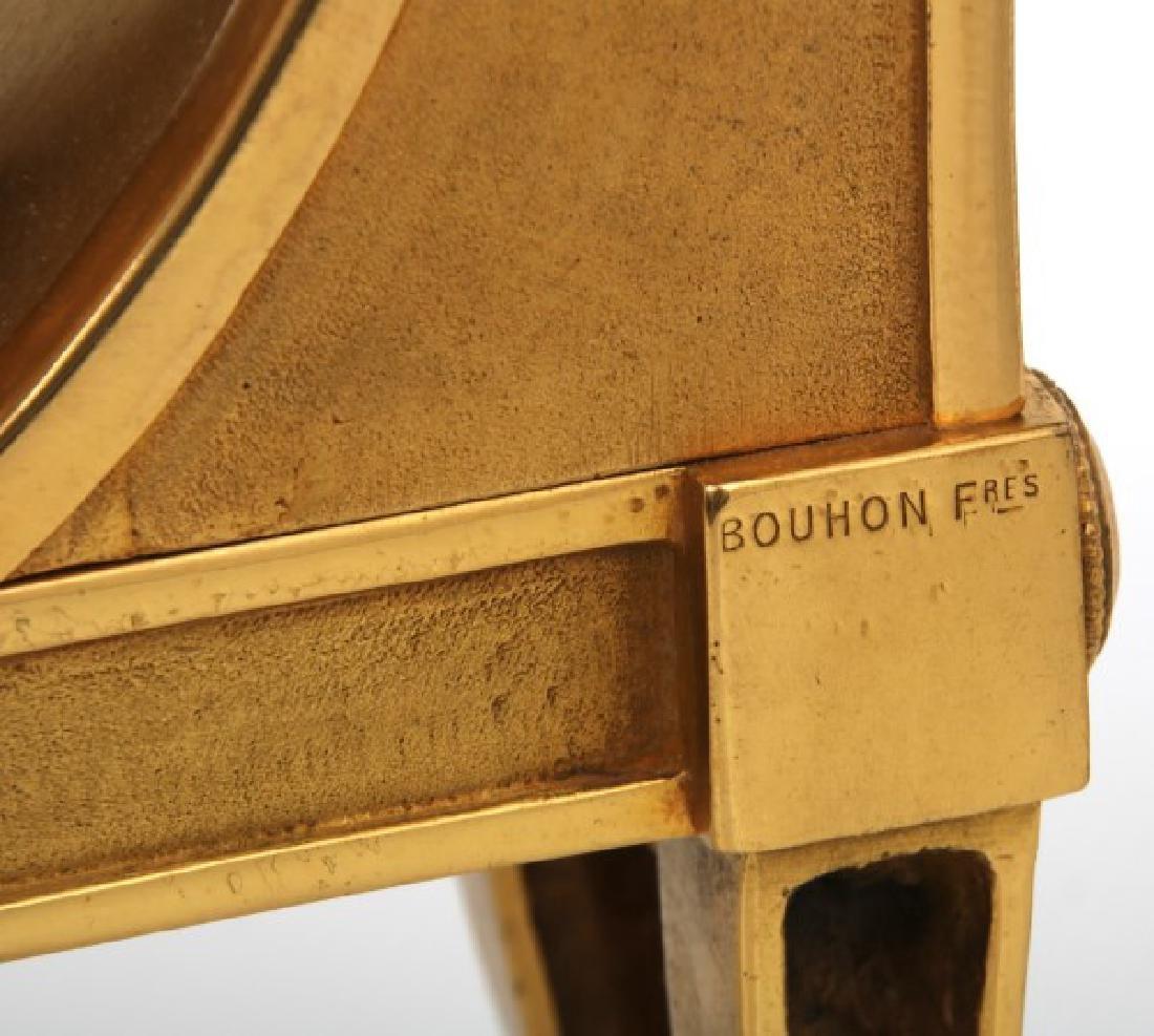 Pr. Bouhon Freres French Bronze Chenets - 10