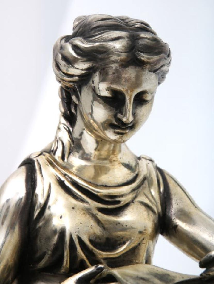 Pr. Bouhon Freres French Bronze Chenets - 2