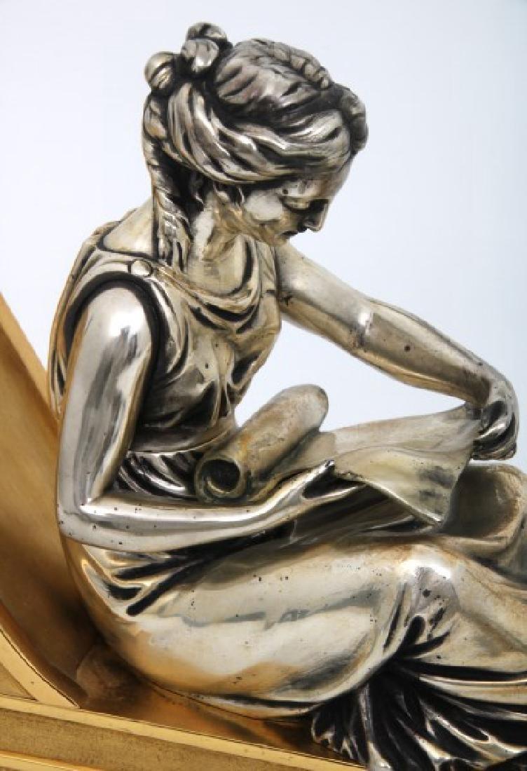 Pr. Bouhon Freres French Bronze Chenets - 3