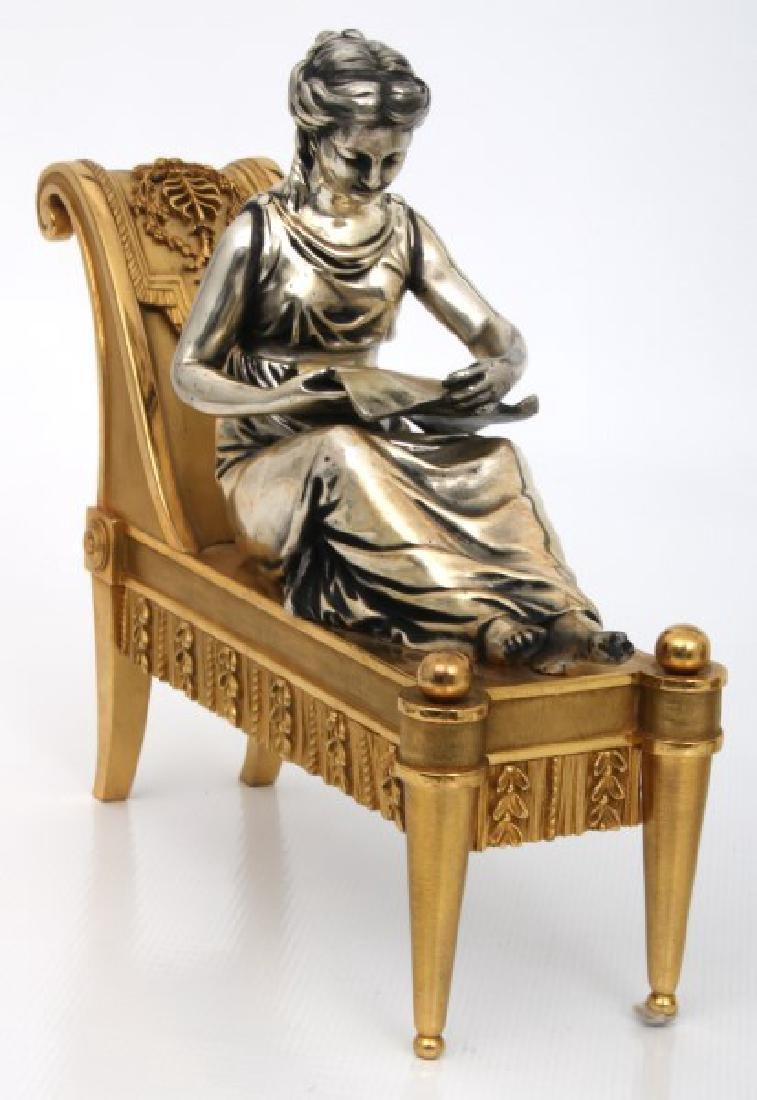 Pr. Bouhon Freres French Bronze Chenets - 4