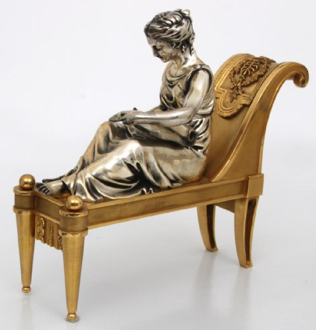 Pr. Bouhon Freres French Bronze Chenets - 5