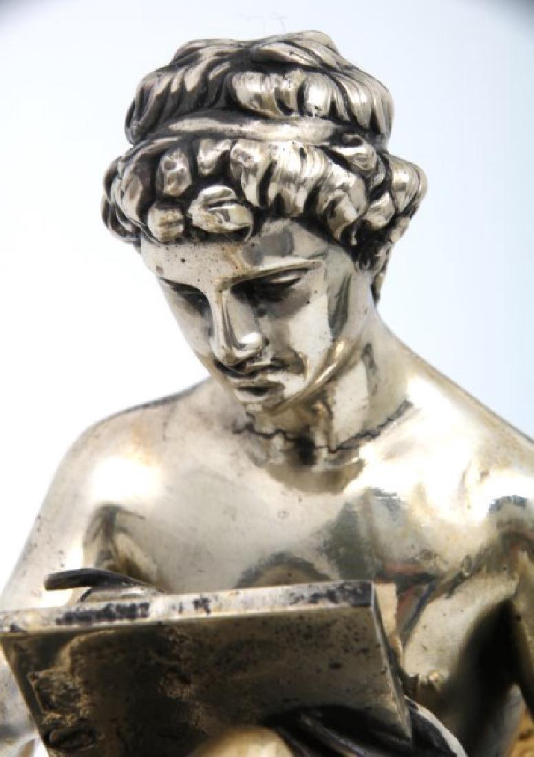 Pr. Bouhon Freres French Bronze Chenets - 6
