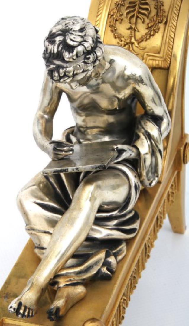 Pr. Bouhon Freres French Bronze Chenets - 7