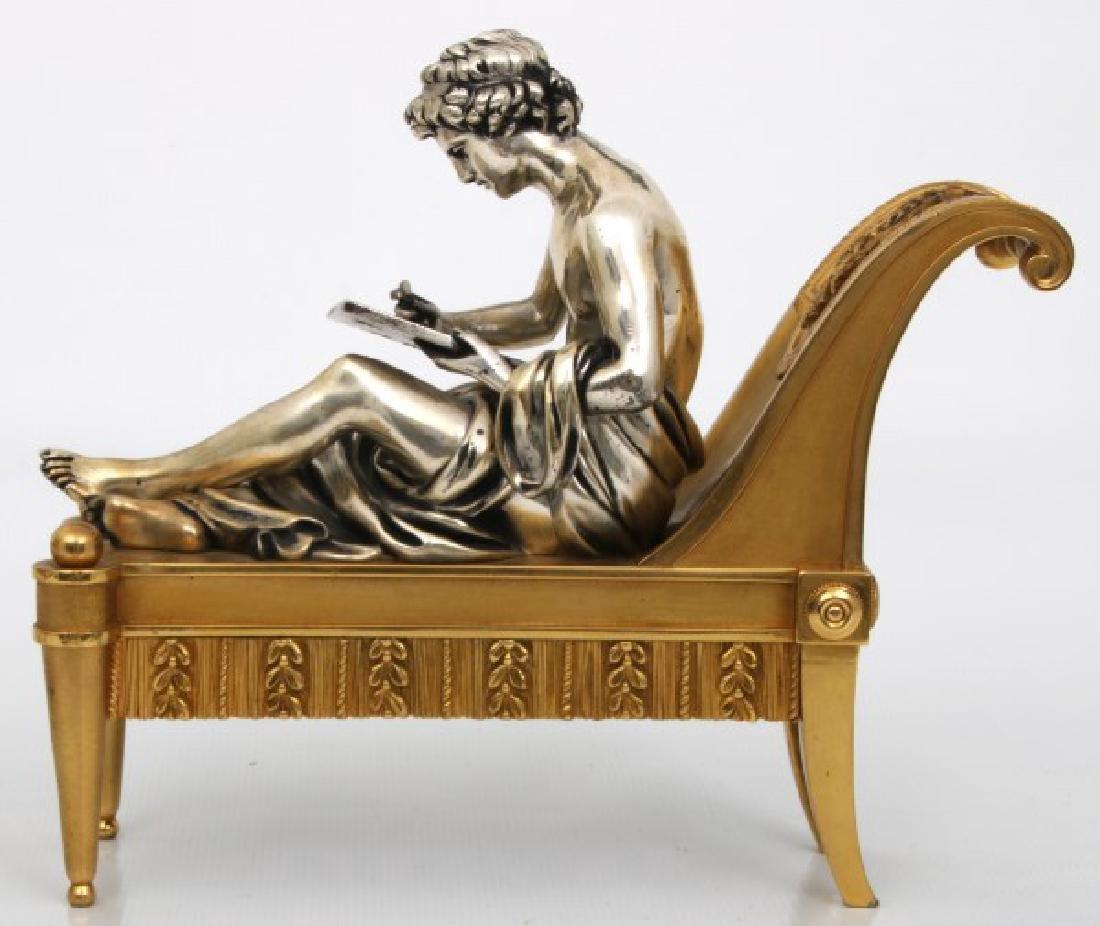 Pr. Bouhon Freres French Bronze Chenets - 8