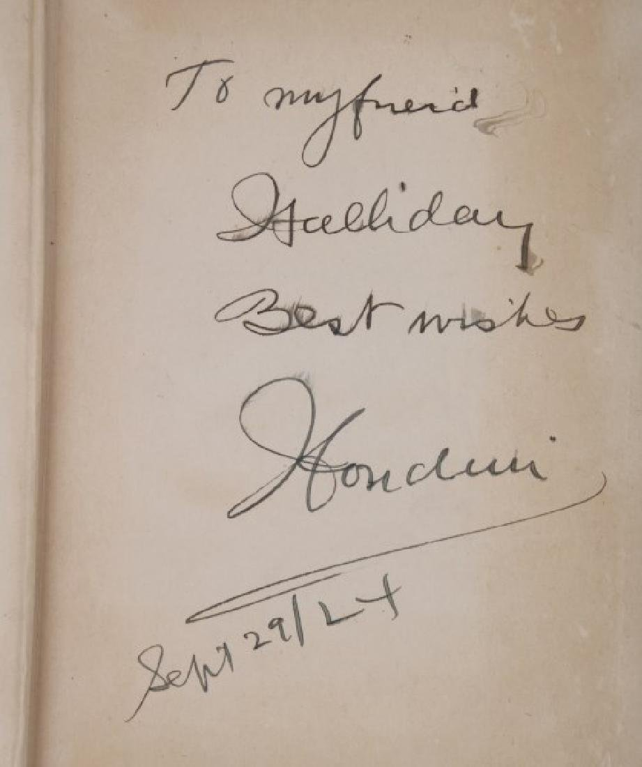 Signed Houdini A Magician Among The Spirits - 2