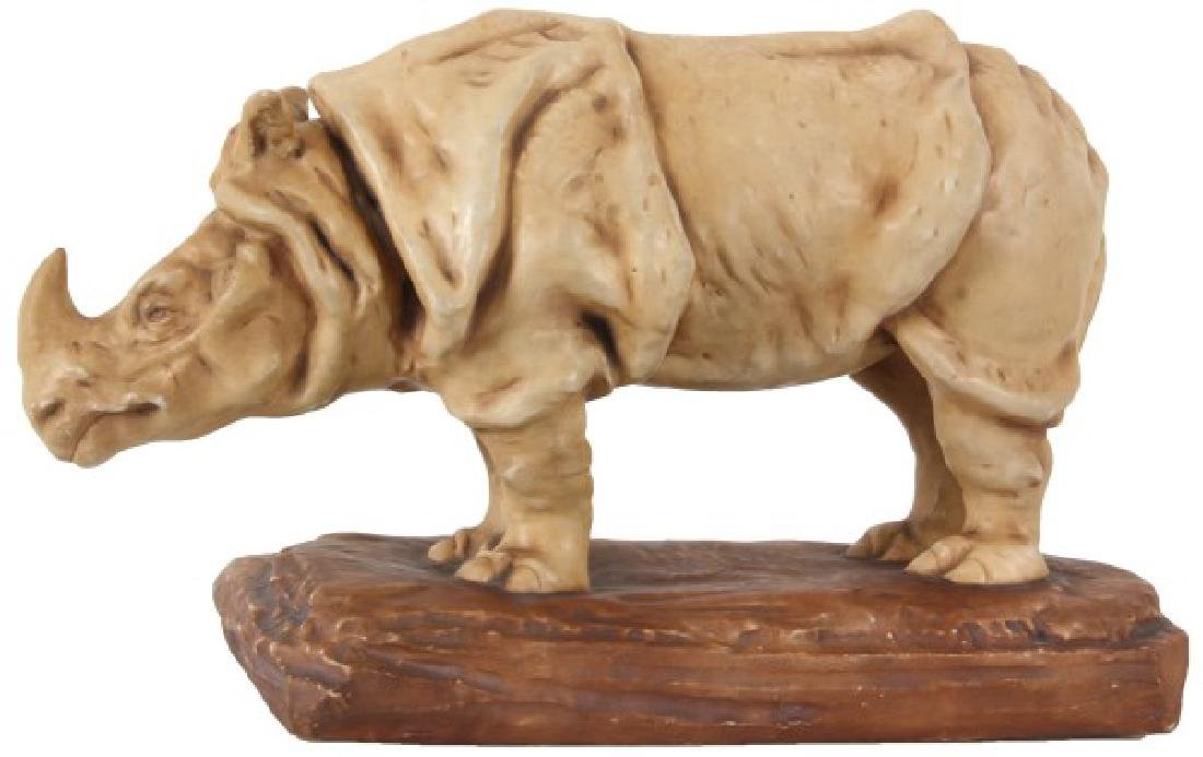 Excellent Amphora Figural Rhinoceros