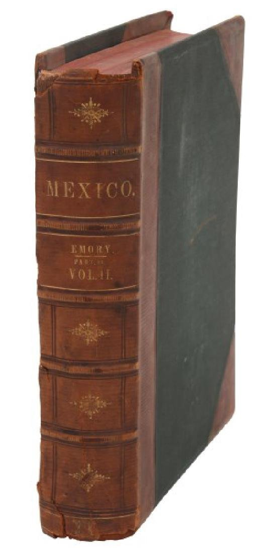 Emory US And Mexican Boundary Survey Book