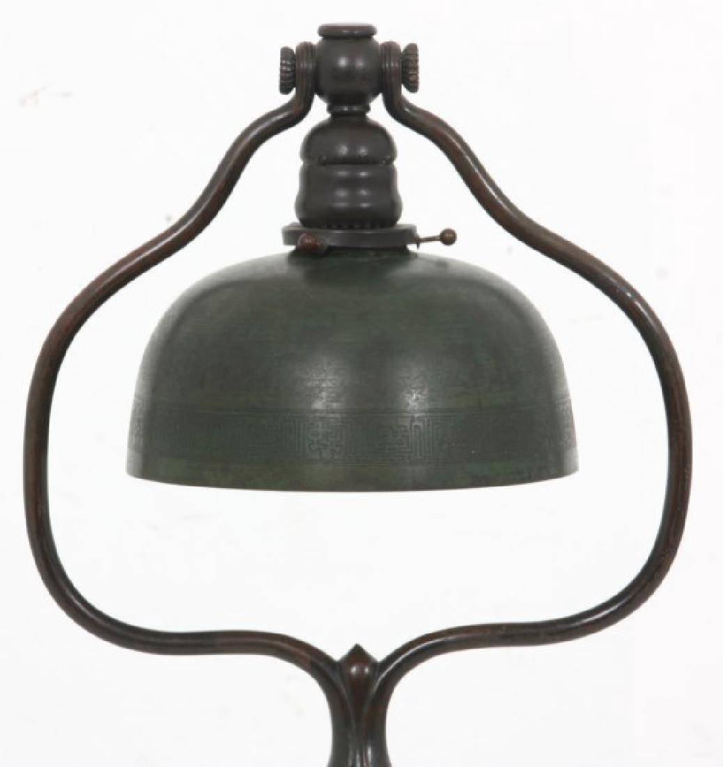 Tiffany Studios Bronze Harp Floor Lamp - 2