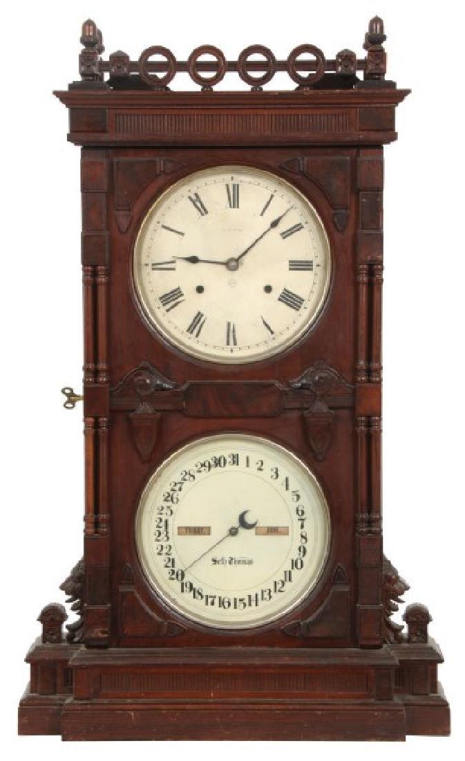 Seth Thomas Parlor No. 10 Calendar Clock