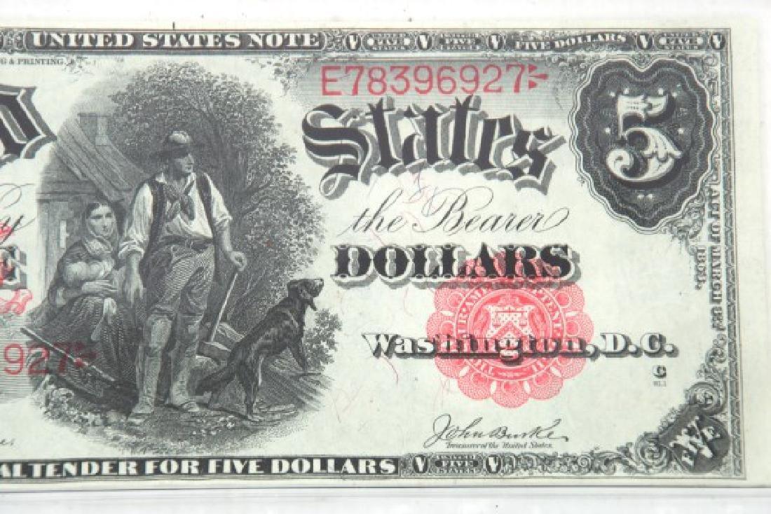 1907 Legal Tender, 1934 & 1935 Silver Certificate - 10