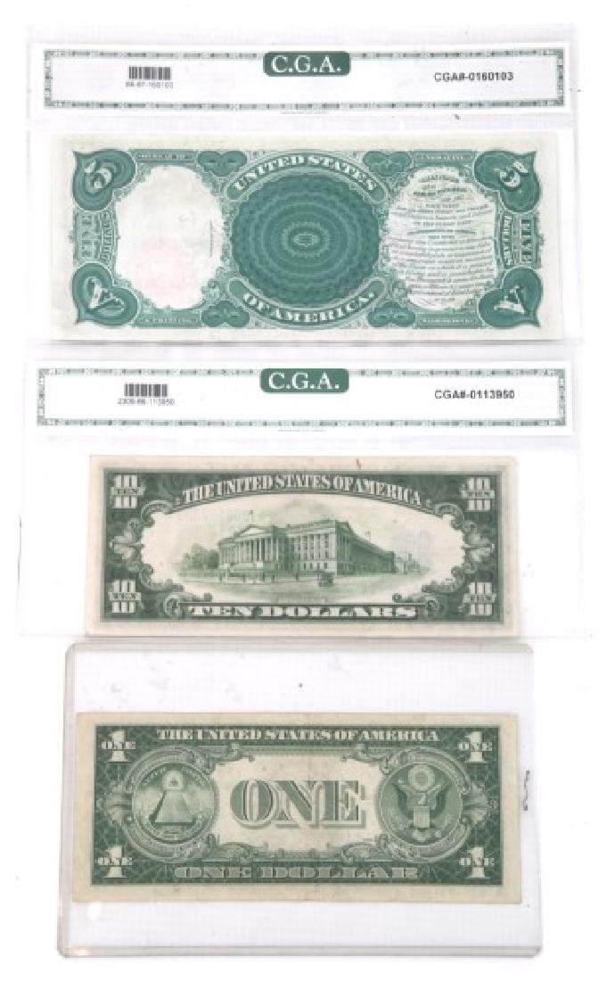 1907 Legal Tender, 1934 & 1935 Silver Certificate - 2