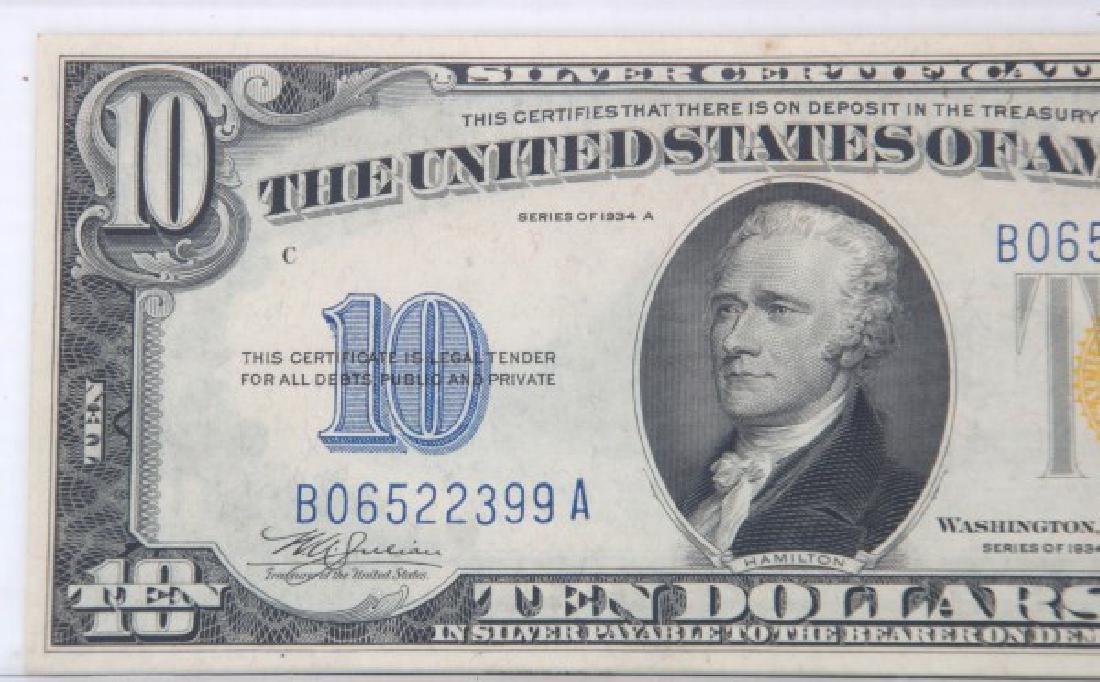 1907 Legal Tender, 1934 & 1935 Silver Certificate - 8