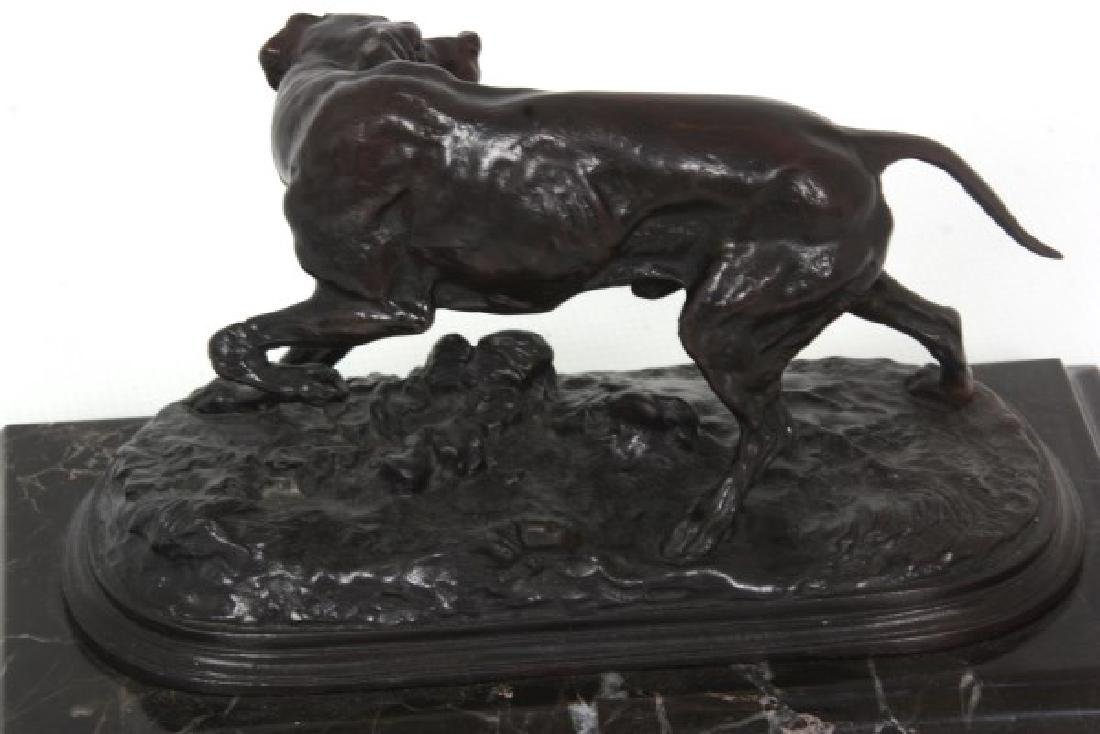 P.J. Mene Bronze Hunting Dog Sculpture - 9