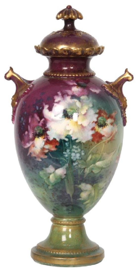 13 in. Royal Bonn Covered Urn