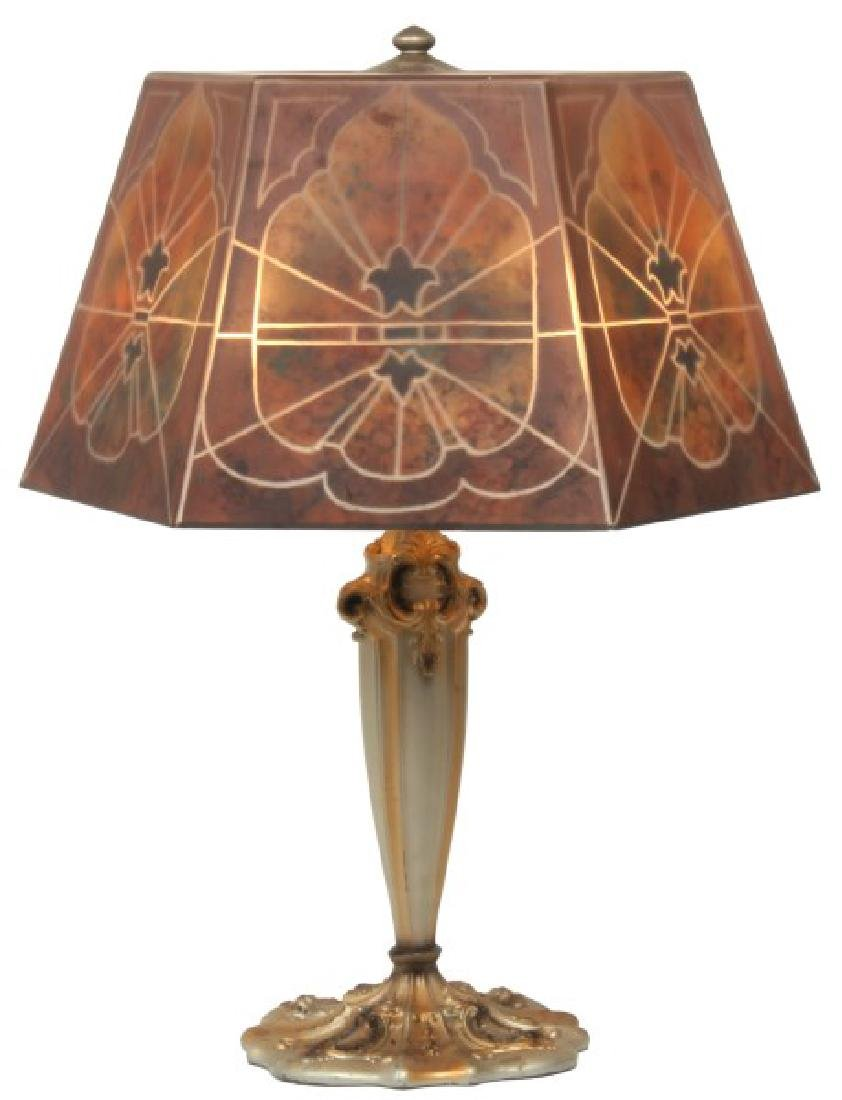 16 in. Jefferson Reverse Painted Table Lamp
