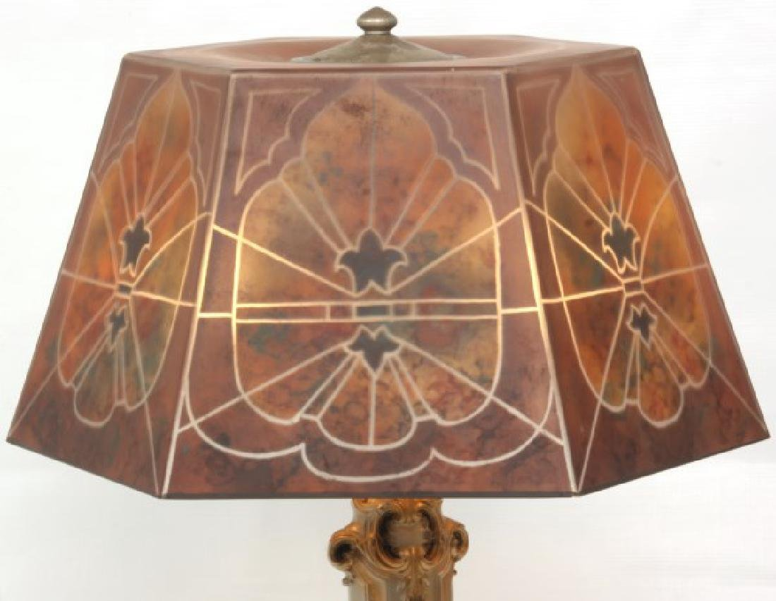 16 in. Jefferson Reverse Painted Table Lamp - 4