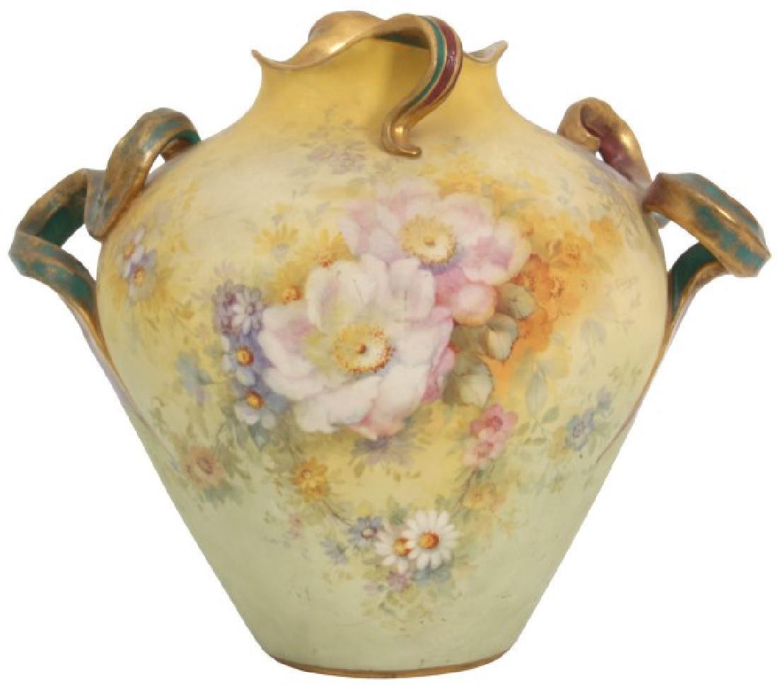 Unusual Royal Bonn Porcelain Vase