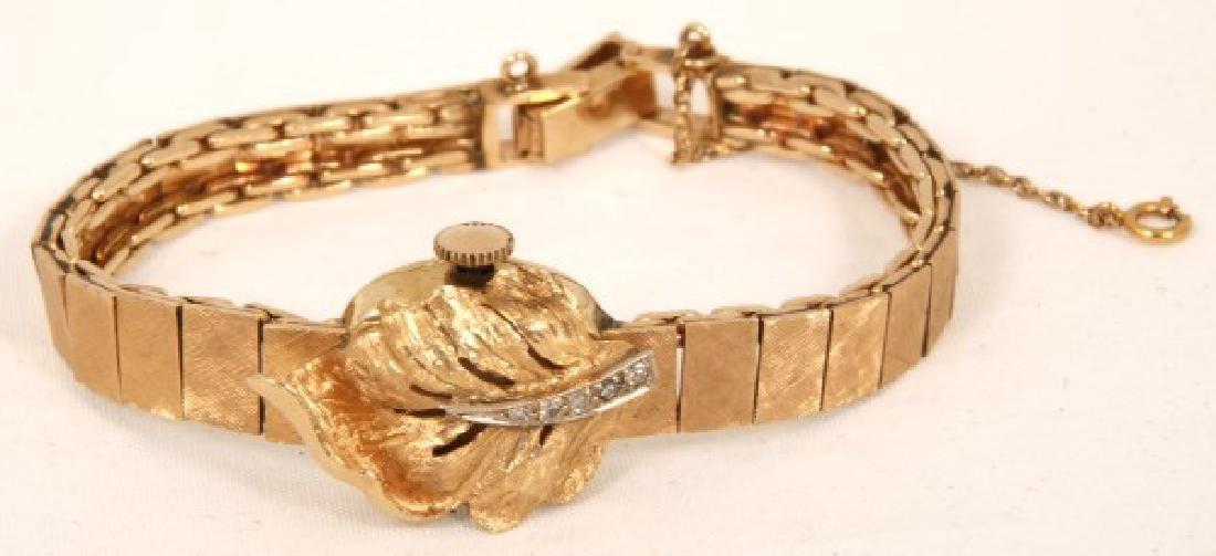 14K Gold Altair Ladies Wrist Watch