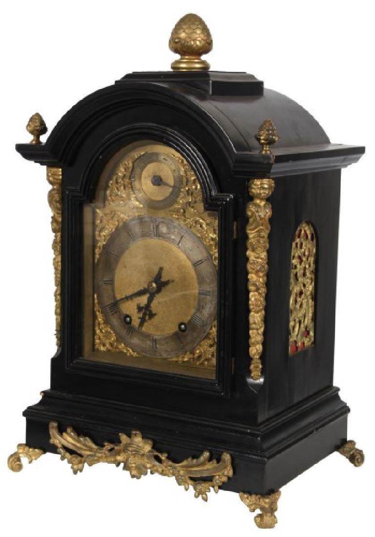 Winterhalder & Hofmeier Ebonized Bracket Clock