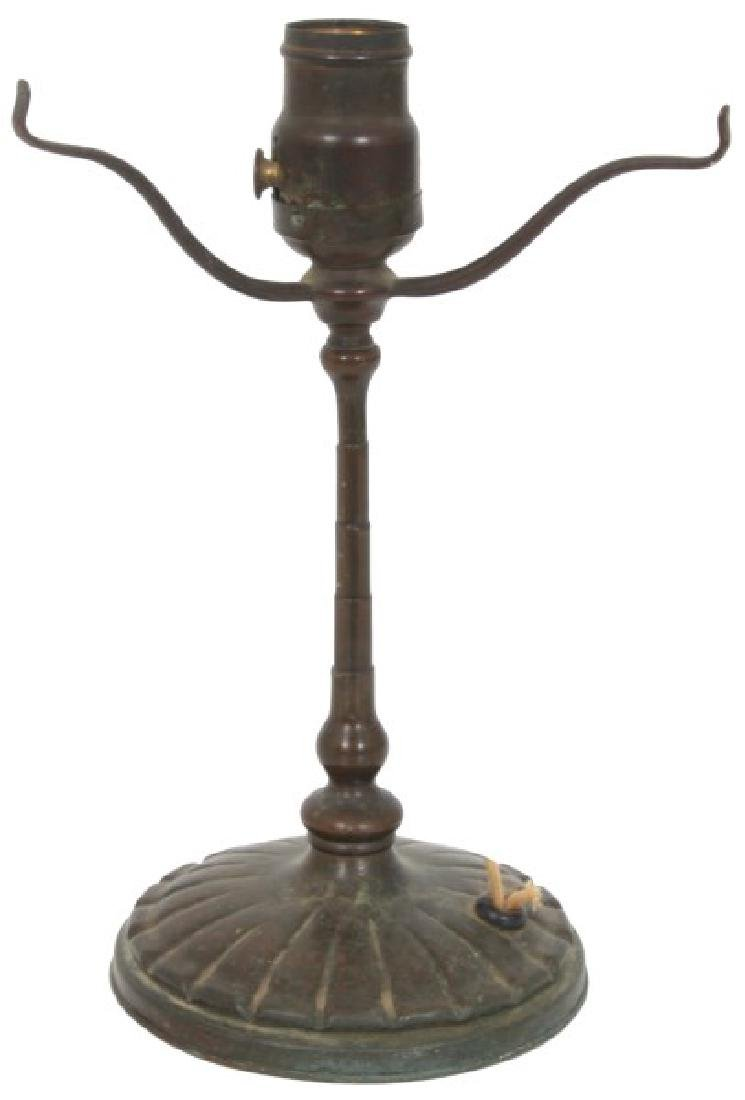 Tiffany Studios Bronze Desk Lamp Base