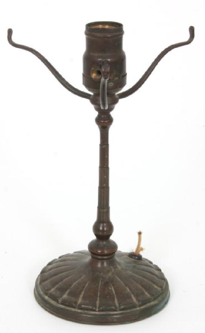 Tiffany Studios Bronze Desk Lamp Base - 2