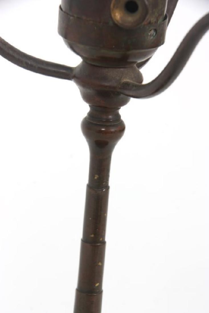Tiffany Studios Bronze Desk Lamp Base - 4