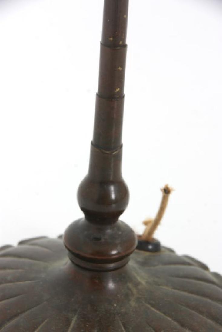 Tiffany Studios Bronze Desk Lamp Base - 5