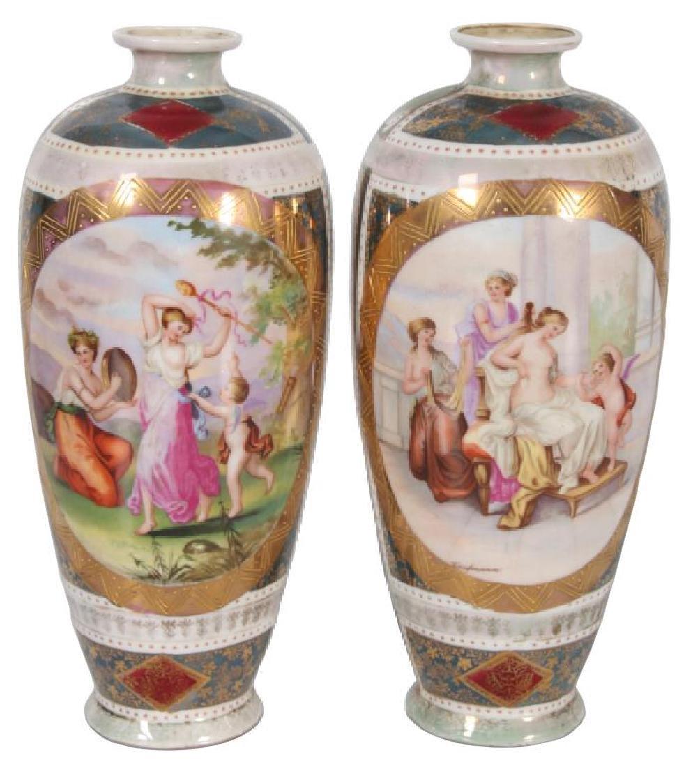 Pr. Royal Vienna Vases