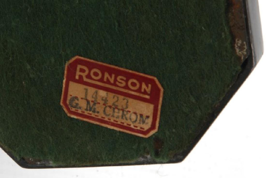 Ronson Chrome Deco Figural Dancer - 8