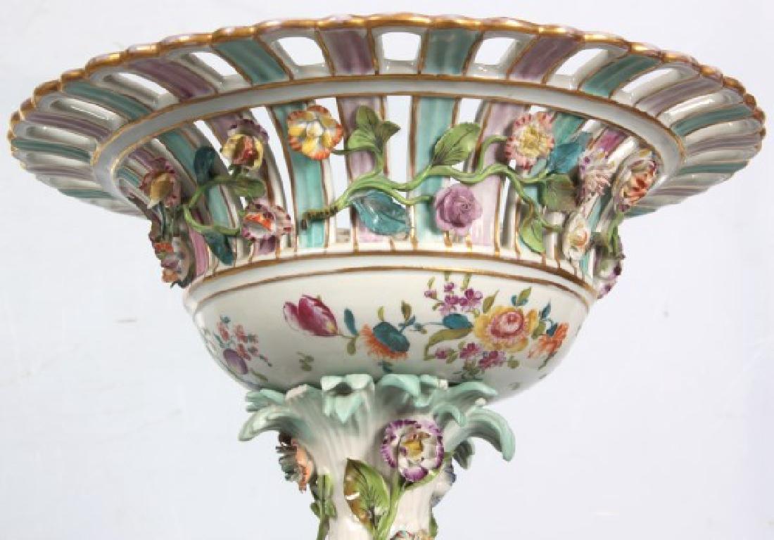 Pr. Meissen, Carl Thieme Porcelain Compotes - 7