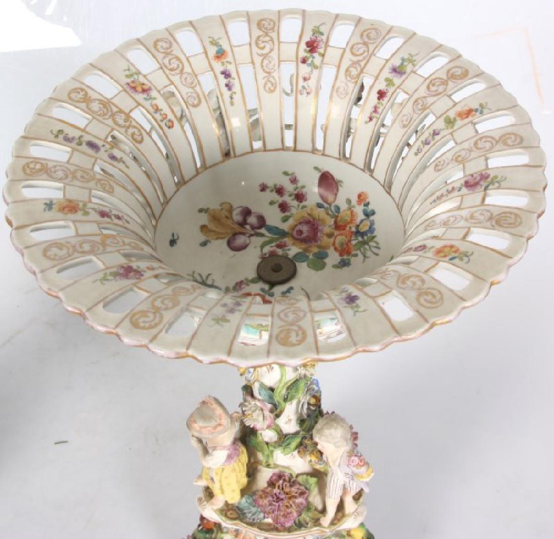 Pr. Meissen, Carl Thieme Porcelain Compotes - 8