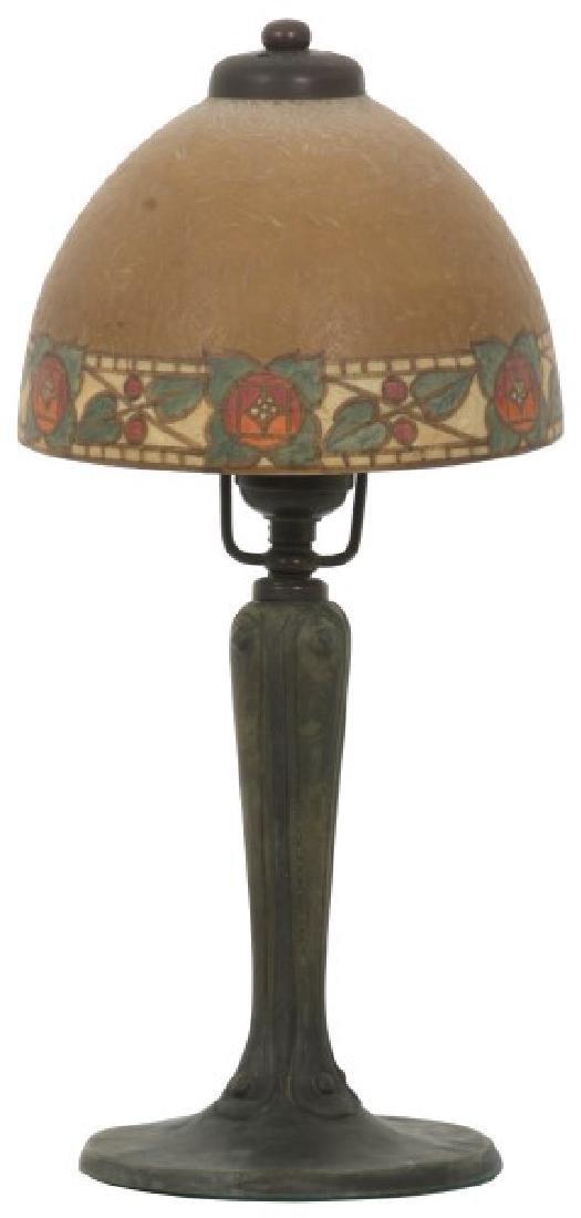 7 in Handel Arts & Crafts Boudoir Lamp