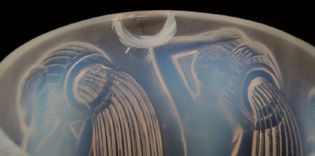 R. Lalique Opalescent Glass Vase - Danaides - 3