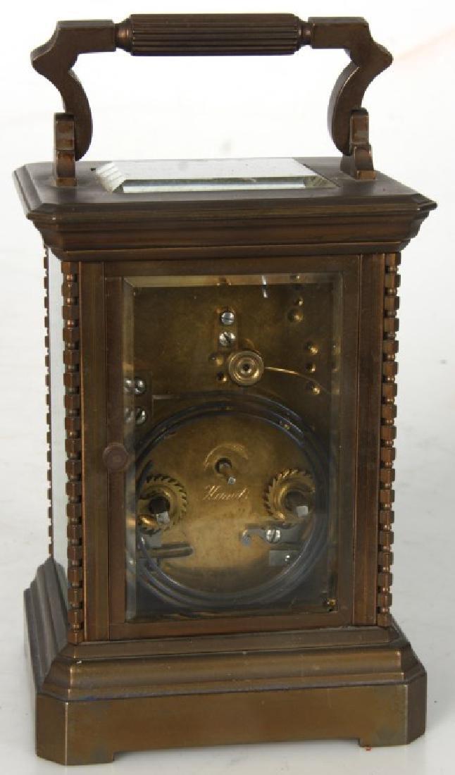 Brass Carriage Clock In Case - 5